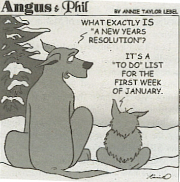 Among the most popular New Year's Resolutions this year are